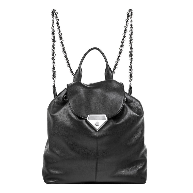 Linea Pelle Roosevelt Backpack in Black