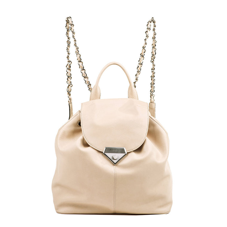 Linea Pelle Roosevelt Backpack in Bone