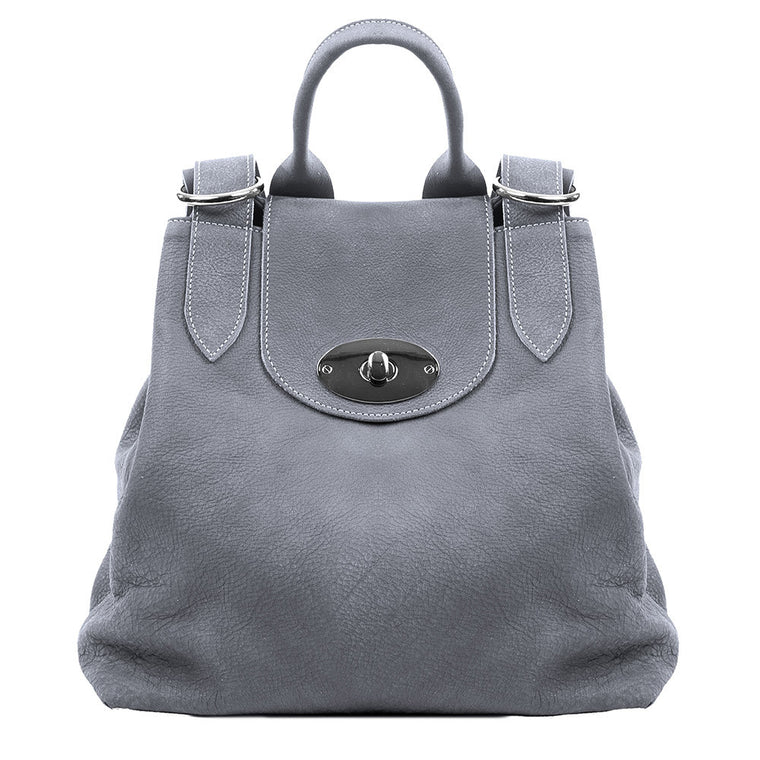 Linea Pelle Veronika Backpack in Grey