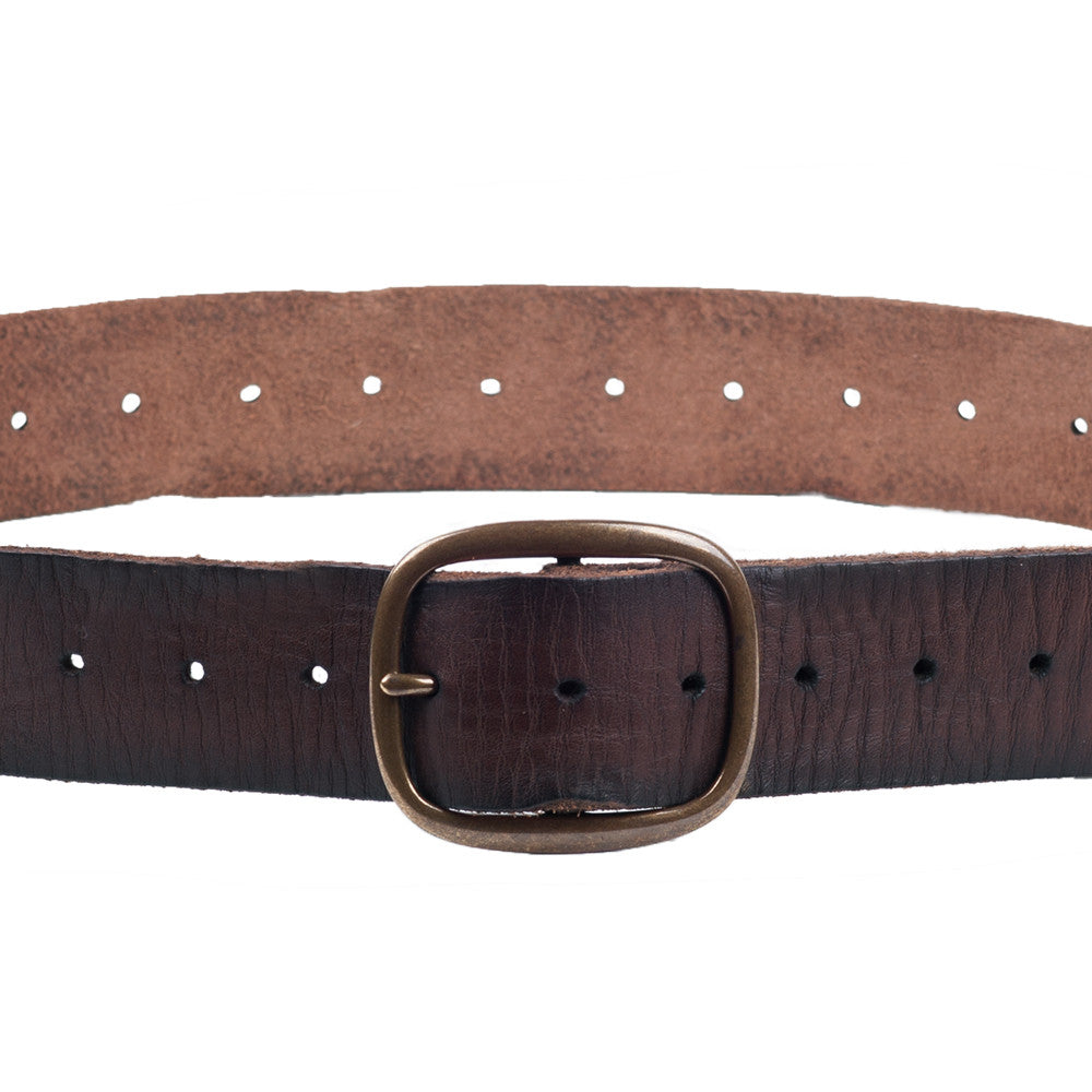 Linea Pelle Perforated Belt in Tmoro
