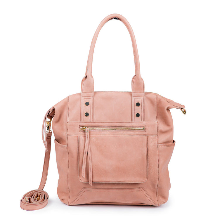 Linea Pelle Walker Tote Bag in Washed Natural