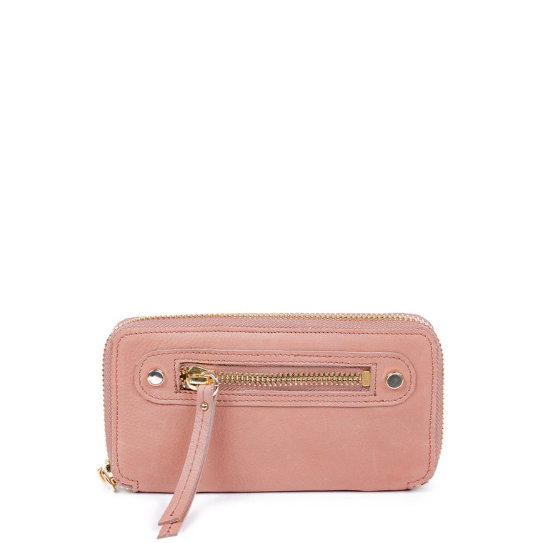 Linea Pelle Walker Wallet in Washed Natural
