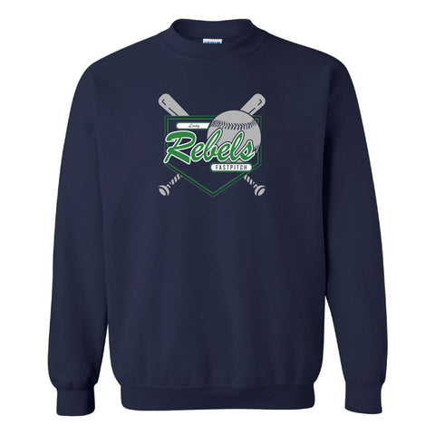 Lady Rebels Crewneck Sweatshirt