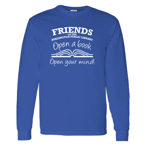 Friends of the Library Royal Longsleeve Shirt