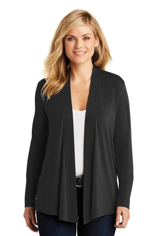 F&M Bank Port Authority® Ladies Concept Knit Cardigan
