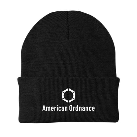 American Ordnance Embroidery - Port Authority Knit Cap