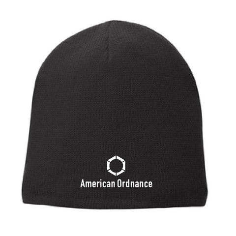 American Ordnance Embroidery - Port & Company Fleece-Lined Beanie Cap