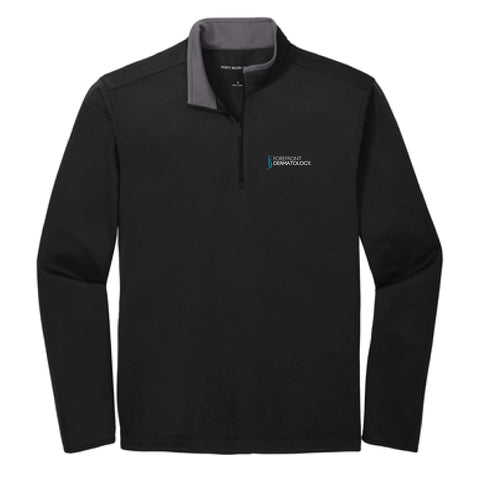 Forefront Dermatology Embroidered Port Authority Silk Touch Performance 1/4-Zip