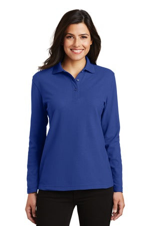 F&M Bank Ladies Long Sleeve Polo