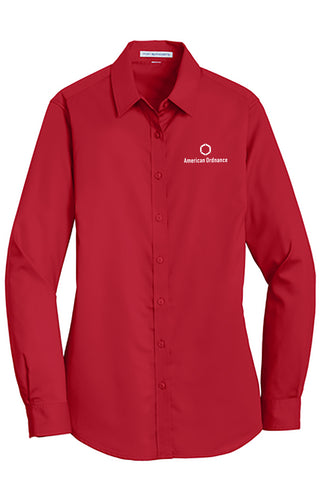 American Ordnance Embroidery - Ladies Port Authority Superpro Twill