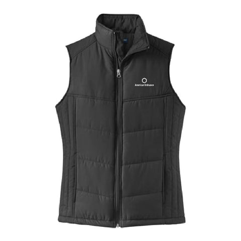 American Ordnance Embroidery - Ladies Puffy Vest