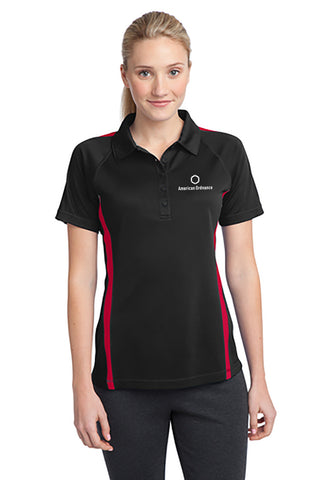 American Ordnance Embroidery - Ladies Sport Tek Posicharch Block Polo