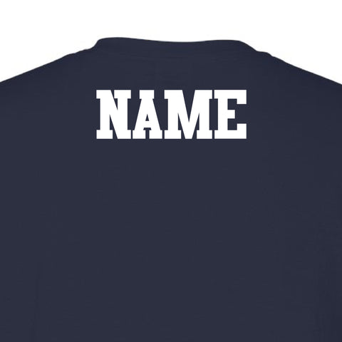 Lady Rebels Personalized Name