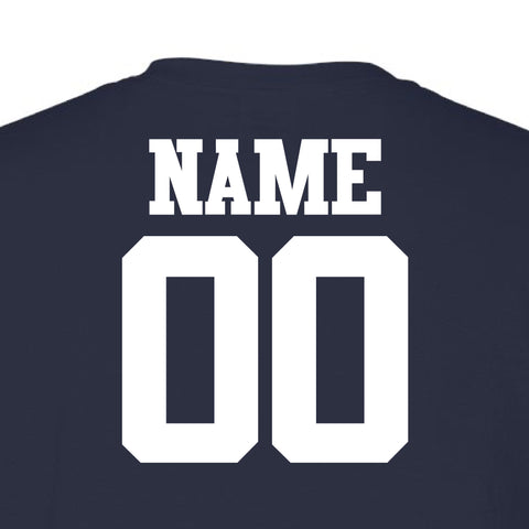 Lady Rebels Personalized Name & Number