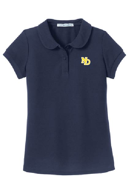 ND Girls & Ladies Short Sleeve Polo