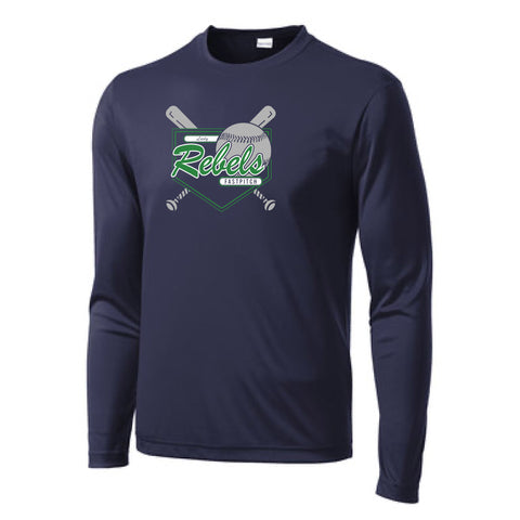 Lady Rebels Sport-Tek Long Sleeve PosiCharge Competitor Tee