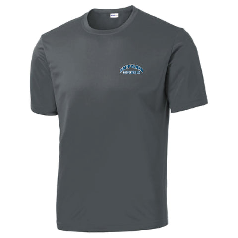 Happyland Sport-Tek PosiCharge Competitor Tee (left chest and back design)