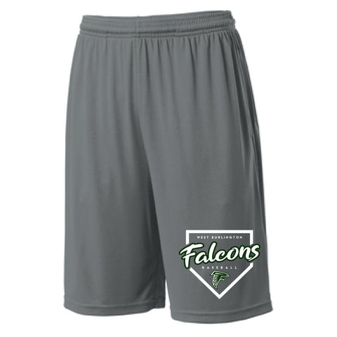 WB Baseball 2021 Sport-Tek PosiCharge Competitor Pocketed Shorts