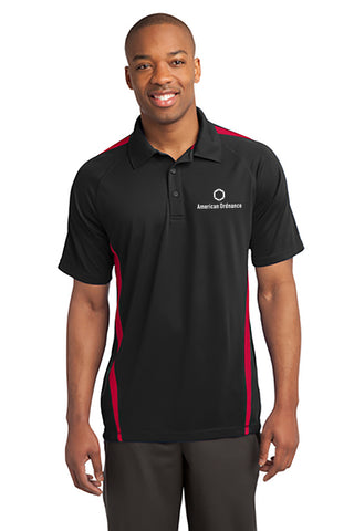 American Ordnance Embroidery - Mens Sport Tek Posicharch Block Polo