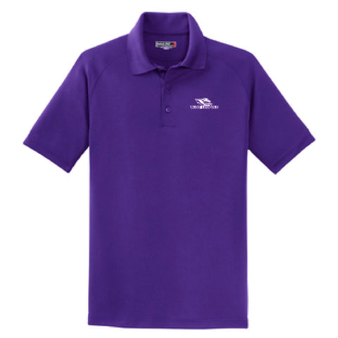 Aldo Intermediate School Sport-Tek Dry Zone Raglan Polo