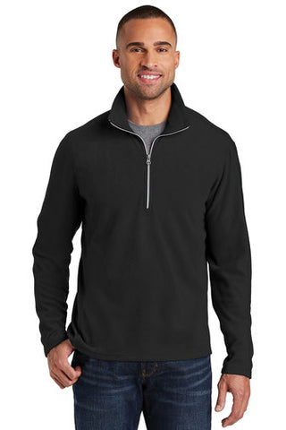 F&M Bank Port Authority® Microfleece 1/2-Zip Pullover