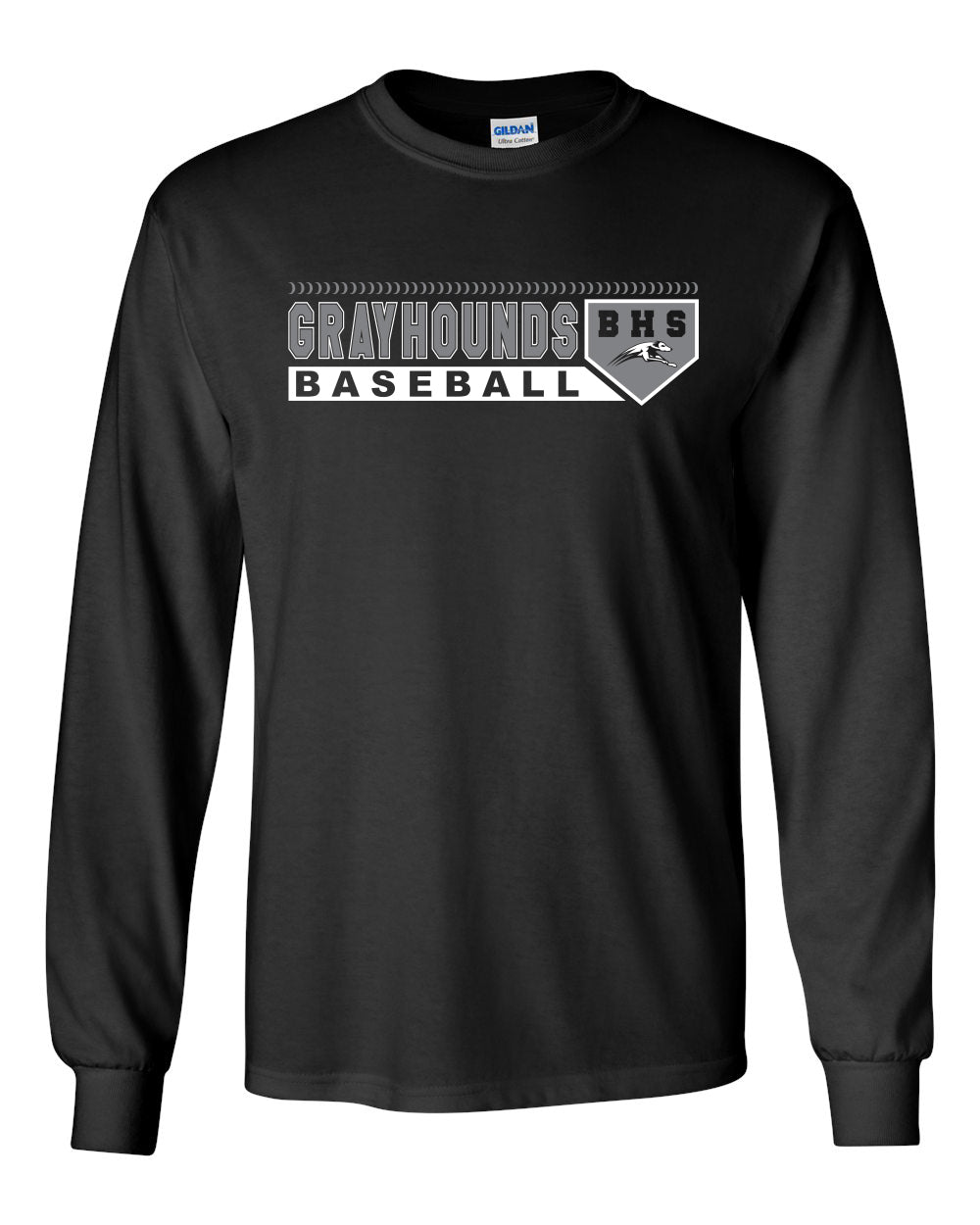 Grayhounds Baseball 2018 Longsleeve design 2