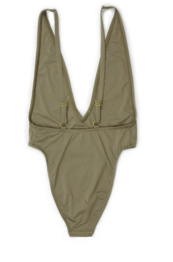 Chinwe High Cut Low V-Neck One Piece