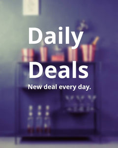 Daily Deals and Deal of the week added to the website!