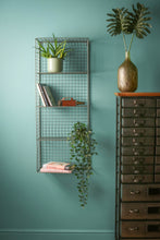 Large Industrial Style Wire Shelving Wall Shelf Office Storage Retro Rack Vintage - Whaleycorn