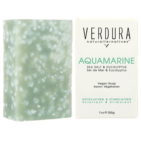 AQUAMARINE EXFOLIATING SOAP BAR