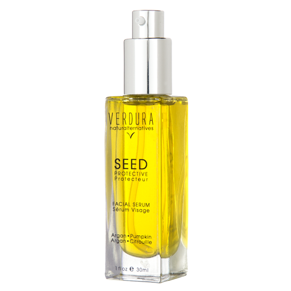 SEED FACIAL SERUM | 100% natural-vegan | VERDURA naturalternatives | FOR DRY TO NORMAL SKIN. Highly effective in repairing dry, damaged skin and providing a high dose of Vitamin A,C, E, K and omega 3, 6 & 9 beneficial for dry, cracked and chapped skin and to improve skin elasticity. It's naturally occurring SPF protection makes it beneficial against the appearance of age spots.