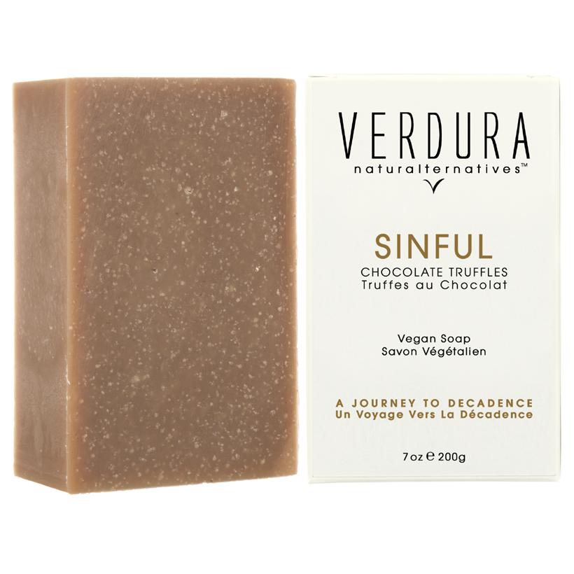 SINFUL SOAP BAR | 100% natural-vegan | VERDURA naturalternatives | Indulge, brake the forbidden rules with