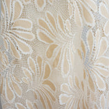 beige/white two-toned lace