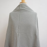 gingham stretchy jacquard