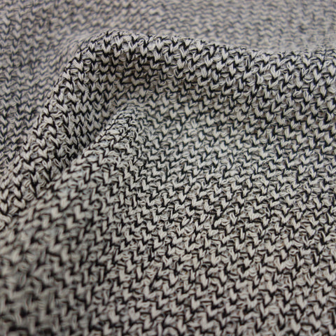 sweater like cut-and-sew fabric