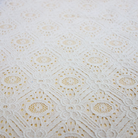 diamond pattern lace