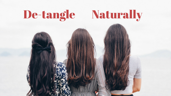 De-tangle- Naturally