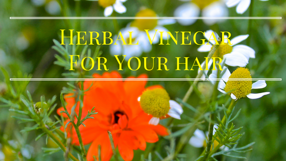 Herbal Hair Vinegars- and a DIY Recipe