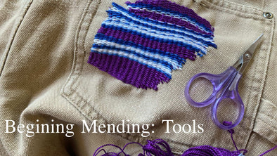Beginning Mending- Tools to Get Started