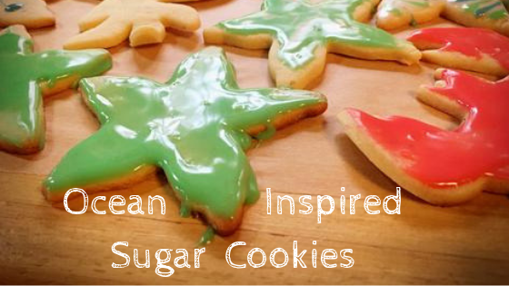 Seaweed Sugar Cookies and Holiday Baking