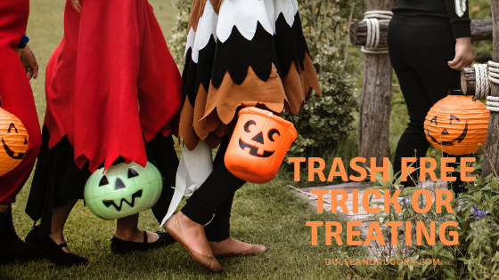 Trash Free Trick or Treating