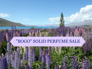 """BOGO"" SALE on SOLID PERFUMES"
