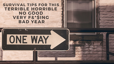 Survival Tips for This Terrible Horrible No Good Very F&*$ing Bad Year