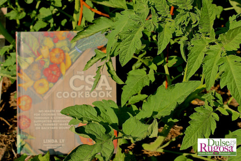 The CSA Cookbook is filled with ways to use every bit of harvest bounty.