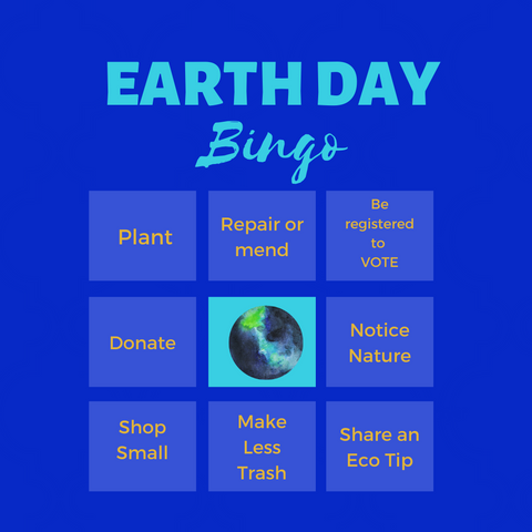 Tips for Earth Day while staying at home