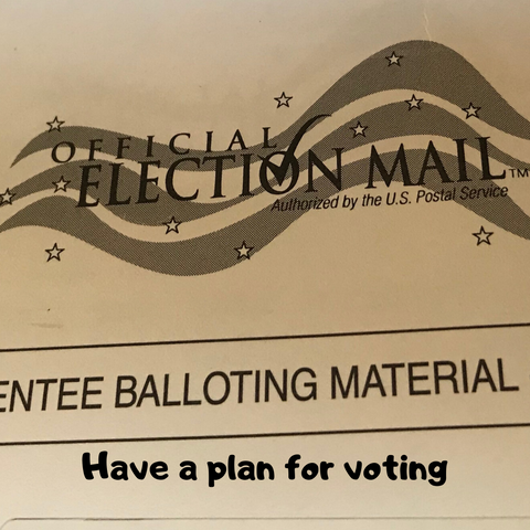 Have a voting plan- don't assume everything will run smoothly.