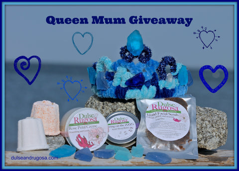 Win a sea glass tiara and a box full of Dulse & Rugosa skincare.