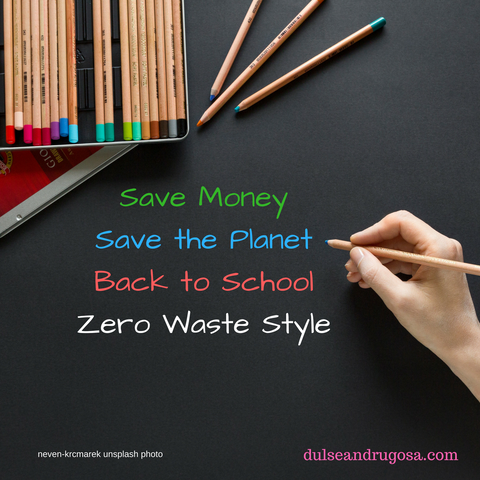 Shop Zero Waste for Back to School