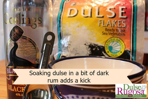 Replace vanilla with dulse and dark rum- Yum!