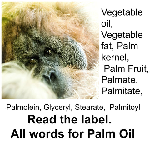 It's important to read ingredient labels to find out if a product contains Palm oil.
